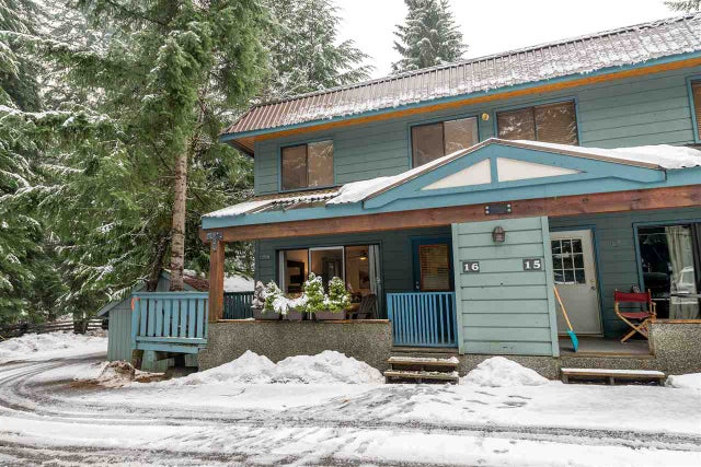 16 8003 TIMBER LANE - Alpine Meadows Townhouse for sale, 2 Bedrooms (R2226097) #1